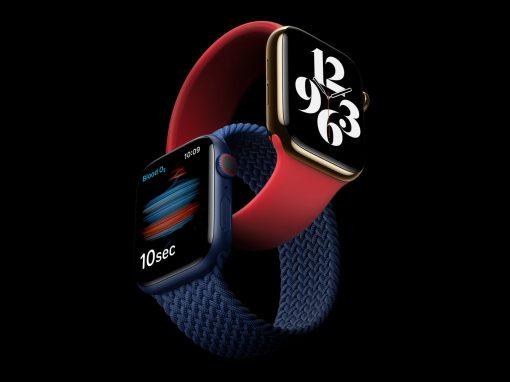 أبل تعلن عن ساعتها الأفضل حتى الآن Apple Watch Series 6 بمزايا جديدة للصحة واللياقة
