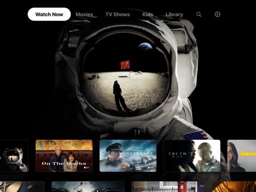 سوني تطلق تطبيق Apple TV لأجهزة تلفاز ذكية محددة