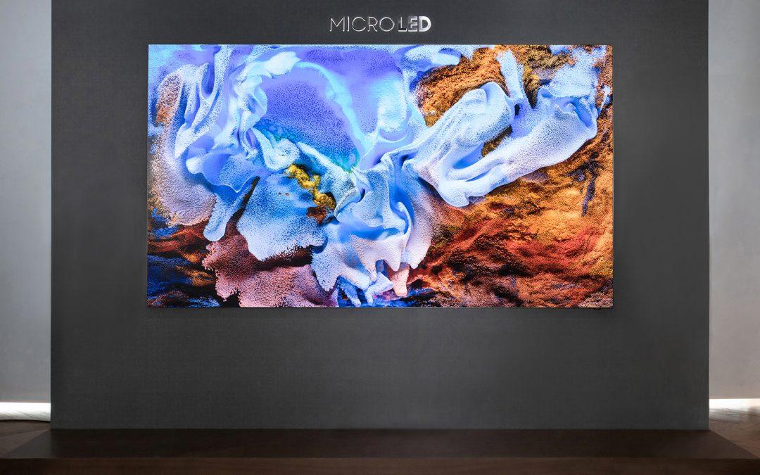 جهاز العرض المرئي MicroLED من سامسونج يدشن حقبة جديدة من التجارب المرئية بفضل جودة الصورة والتصميم المذهلين