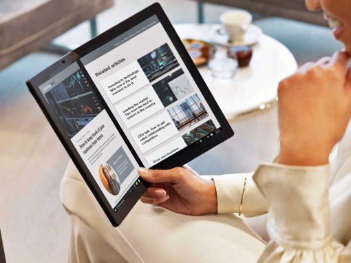 لينوفو تجلب أول حاسوب قابل للطي إلى المملكة العربية السعودية  ThinkPad X1 Fold